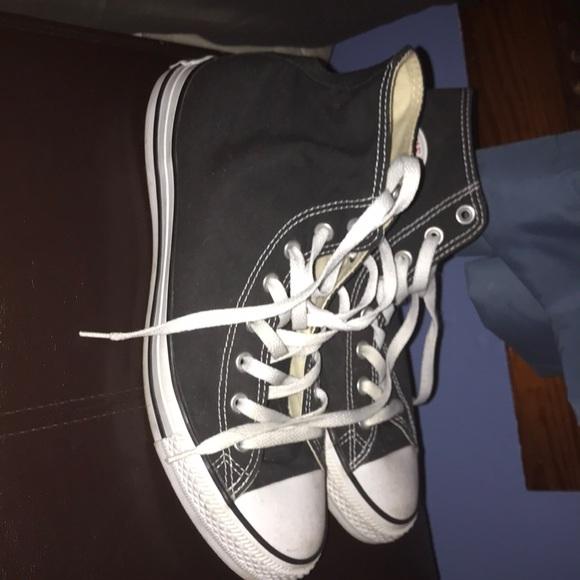 Size 10.5 Black Chuck Taylor Converse